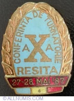 Image #1 of a X a Conferinta de Turnatorie - RESITA 27~28 Mai '87