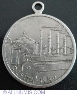 Locul I - Concursul pe echipa 20-IV-1940 RESITA