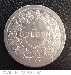 1 Gulden - Bayerische Vereinsbank - Ludwig II