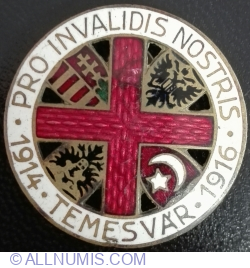 Pro Invalidis Nostris - Temesvar 1914~1916