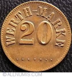 20 Werth-Marke