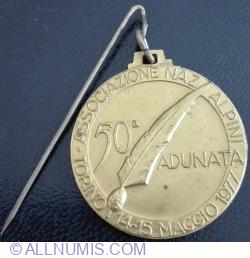 Image #1 of 50a Adunata in TORINO - 14 ~ 15 Maggio 1977