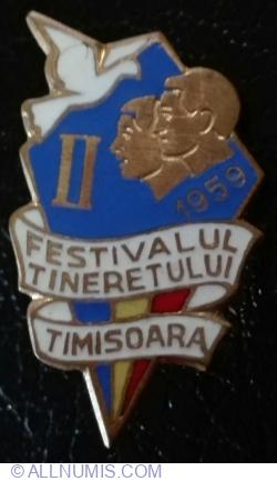 Imaginea #1 a Festivalul Tineretului - Timisoara 1959