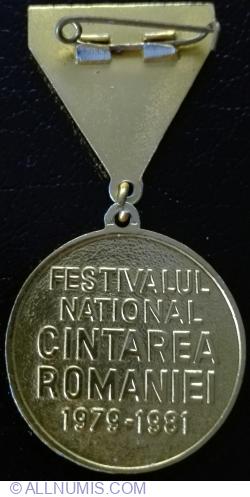 Imaginea #2 a Festivalul National Cintarea Romaniei 1979 - 1981 - Locul I