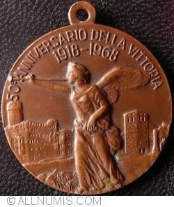 Image #2 of Associazione Nazionale Mutilati ed Invalidi di Guerra 50th anniversary 1918 - 1968