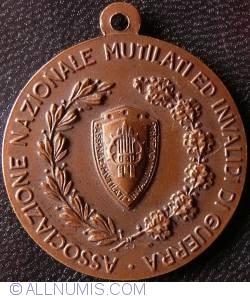 Associazione Nazionale Mutilati ed Invalidi di Guerra 50th anniversary 1918 - 1968