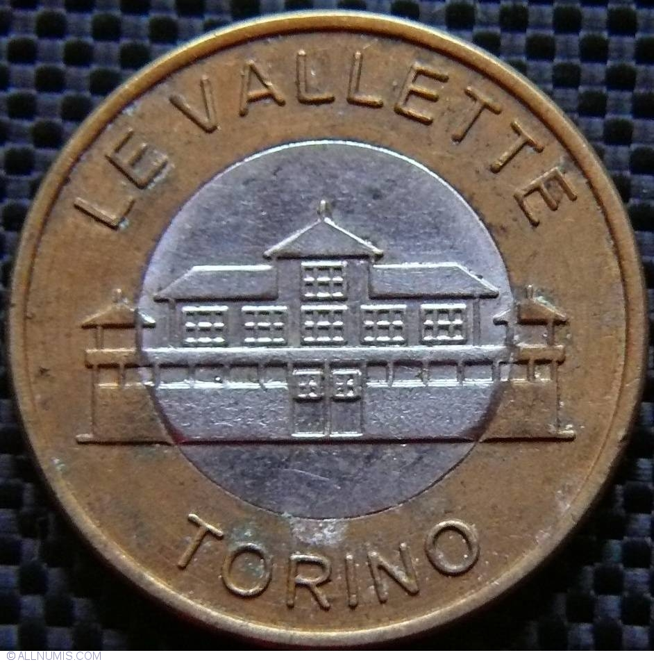 Token of le vallette car wash torino from italy id 9473 for Coin torino