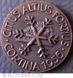 Image #1 of Citius altius fortius 1956 Winter Olympics in Cortina d'Ampezzo, Italy