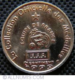 Image #1 of France official football medal-Thuram