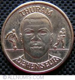 Image #2 of France official football medal-Thuram