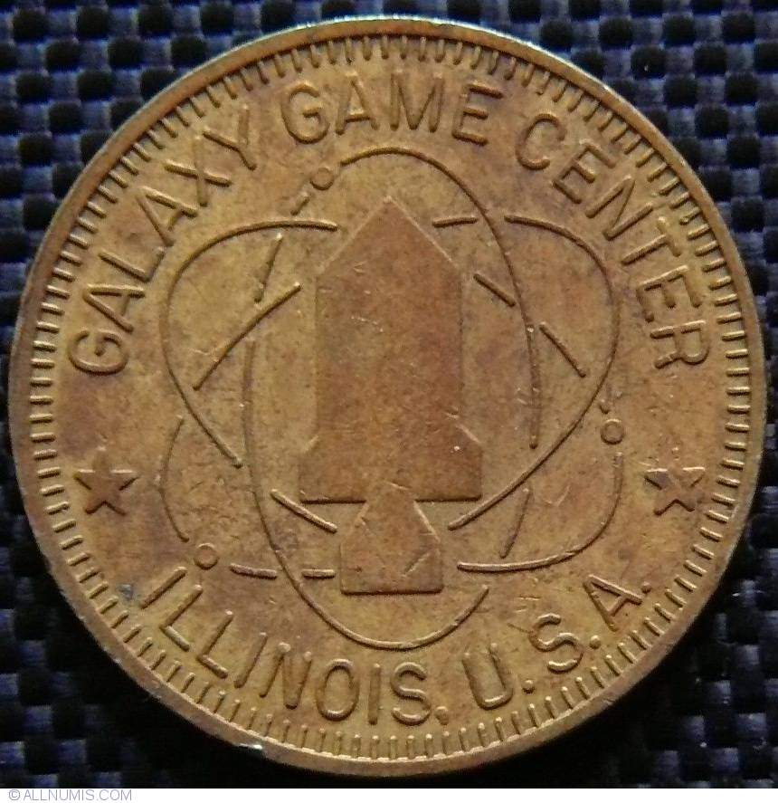 Galaxy Game Center Illinois U S A Business Tokens