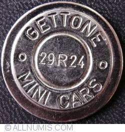 Gettone MINI CARS
