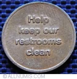 Imaginea #2 a Nik-O-Lok - Restroom Token
