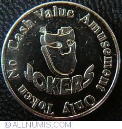 Jokers amusement token