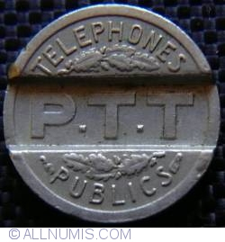 P.T.T Telephones publics 1937