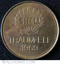 Imaginea #1 a SHELL Traum-Elf 1969 - BERND DORFEL