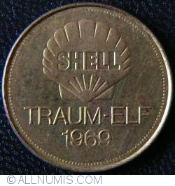Imaginea #1 a SHELL Traum-Elf 1969 - BERND PATZKE