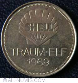Imaginea #1 a SHELL Traum-Elf 1969 - HELMUT HALLER