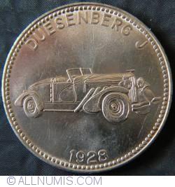 Imaginea #2 a Shell  - Weltberuhmte Sportwagen 1928 Deusenberg J