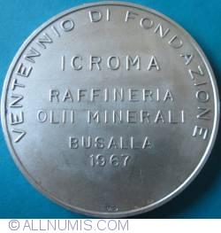 Image #1 of Ventennio di Fondazione - Raffineria Olii Minerali BUSALLA 1967