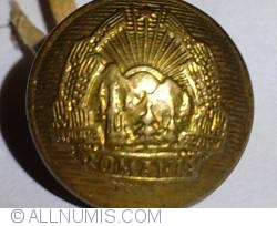 Romania Military Tunic Button