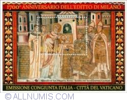 1,90 Euro 2013 -  1700th Anniversary of the Edict of Milan