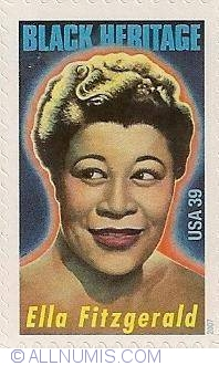Image #1 of 39 Cents 2007 - Black Heritage - Ella Fitzgerald