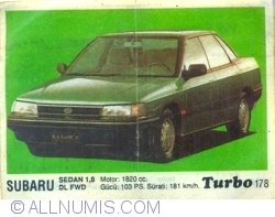 Image #1 of 178 - Subaru Sedan 1,8 DL FWD