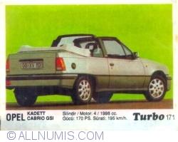 Image #1 of 171 - Opel Kadett Cabrio GSI