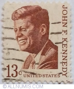 Image #1 of 13 Cents 1967 - John F. Kennedy (1917-1963)