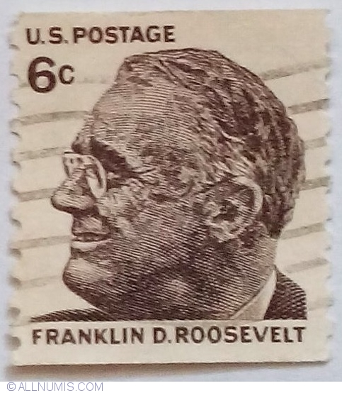 6 Cents 1968 Franklin D Roosevelt Us Presidents