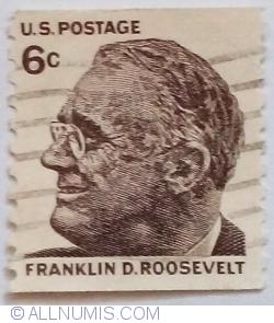 Image #1 of 6 Cents 1968 - Franklin D. Roosevelt