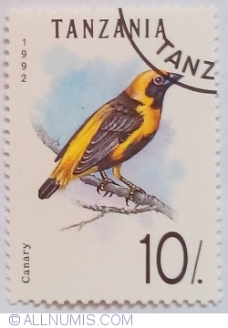 Image #1 of 10 Shillings 1992 - Canary