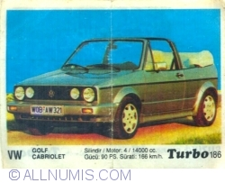 Image #1 of 186 - VW Golf Cabriolet