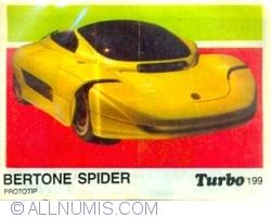 199 - Bertone Spider Prototip