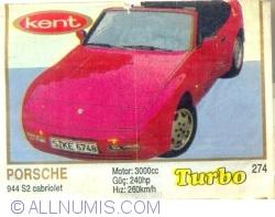 274 - Porsche 944 S2 cabriolet