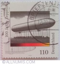 Image #1 of 110 Pfennig 2000 - 100 years of First Zeppelin Flight