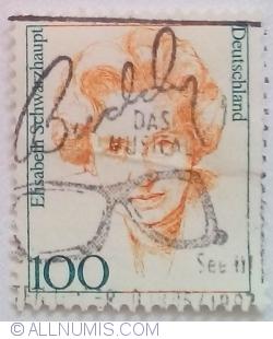 Image #1 of 100 Pfennig 1997 - Elisabeth Schwarzhaupt (1901-1986)