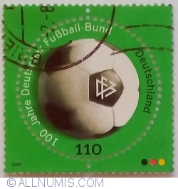 Image #1 of 110 Pfennig 2000 - 100 years German Football Association (DFB)