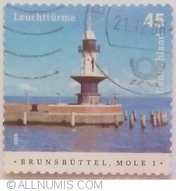 45 Cents 2005 - Brunsbüttel, Mole 1