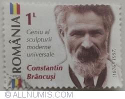 Image #2 of 1 Leu 2016 - Constantin Brâncuși (1876 - 1957)