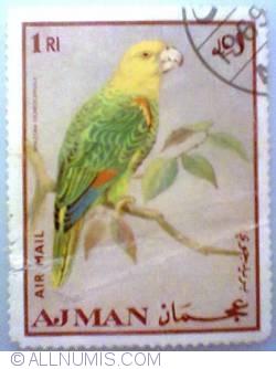 Image #1 of 1 Rial 1969 - Papagal cu coroană galbenă