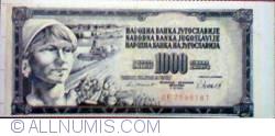 Image #1 of 1000 dinari - Iugolavia