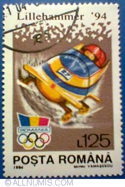 125 lei 1994 - Lillehammer Olympic Games-bobsleigh