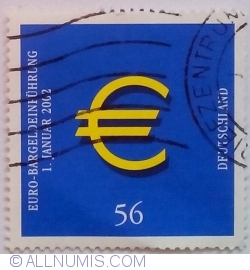 Image #1 of 56 Euro Cent 2002 - Introduction of Euro Currency