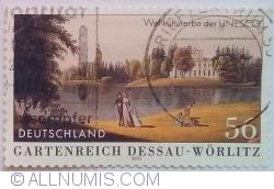 Image #1 of 56 Euro Cent 2002 - Garden Kingdom of Dessau-Wörlitz (UNESCO World Heritage)