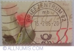 Image #1 of 55 Euro Cent 2003 - Rose greeting