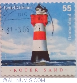 Image #1 of 55 Euro Cent 2004 - Roter Sand