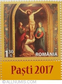"""1,30 Lei 2017 - Răstignirea lui Isus Hristos (Mănăstirea """"Radu Vodă"""")"""