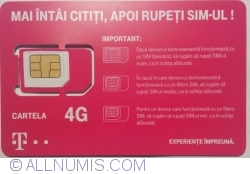 Image #1 of Telekom - Cartela 4 G
